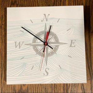 🍄2/$30🍄 Wooden Clock 10x10'